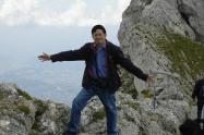 บนยอดเขาที่สวิสเซอร์แลนด์